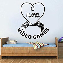 Wall Decoration Controller Wall Decal Words I Love
