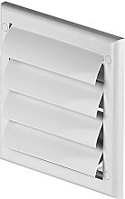 Wall Gravity Flaps 190mm x 190mm Air Vent Grill