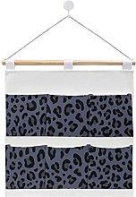 Wall Hanging cotton linen storage bag,BRUT DENIM