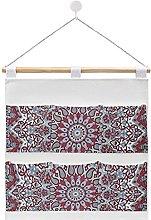 Wall Hanging cotton linen storage bag,Popular Twin