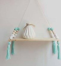 Wall Hanging Shelf Wall Swing Rope Reclaimed