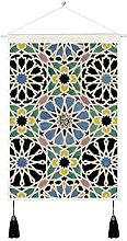 Wall Hanging Tapestry Art,Mosaic Pavement In The