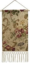 Wall Hanging Tapestry,Victorian Roses Wall Hanging