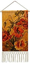 Wall Hanging Tapestry,Vivid Victorian Oil Painting
