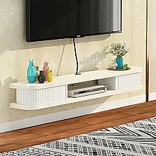 Wall Hanging Tv Cabinet,Solid Wood Wall Mounted