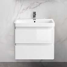 Wall Hung Drawer Vanity Unit Basin Bathroom