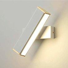 Wall Lamp LED Spin Lighting Fixture Modern Bath