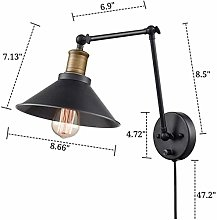 Wall lamp Lighting LED American Retro Industrial