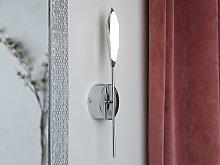 Wall Lamp Silver Colour Iron LED Light Modern