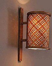 Wall lamp, Vintage Wooden Wall lamp Creative