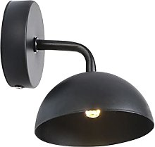 Wall Lamps, Black Antique Metal Wall Lights
