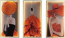 Wall Lamps Set (3PCS), Modern Fashion Lighting