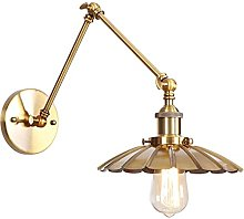 Wall Lamps, Swing Arm Metal Wall Lights Reading