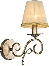 Wall Light 'Finnick' dimmable) in Bronze