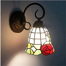 Wall Light Creative Stained Glass Shade Wall