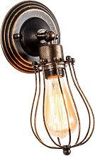 Wall Light Industrial Adjustable Socket Rustic