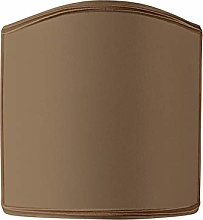 Wall Light with Flame Clip Diameter 12 Taupe