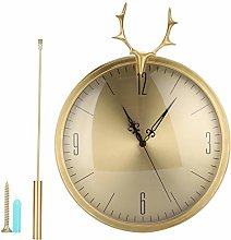 Wall Mount Clock, KR‑83002E Chime Pendulum Wall