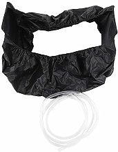 Wall-Mounted Air Conditioning Cleaning Bag, Black