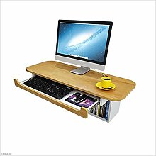 Wall-Mounted Computer Desk, Family Desk, Small