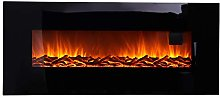 Wall Mounted Electric Fireplace, 50 inch Electric