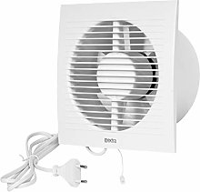 Wall-Mounted Fan Extractor Cable Switch Fan