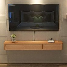 Wall Mounted Floating Tv Stand Media Console