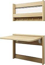 Wall Mounted Fold Down Table Space-Saving Folding