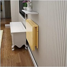 Wall Mounted Fold Down Table Space Saving Small