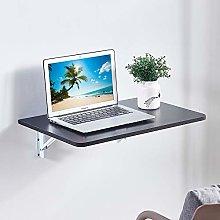 Wall Mounted Folding Desk, Floating Folding Table,