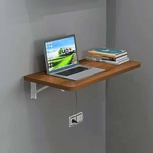 Wall-Mounted Folding Table, Fold up Wooden