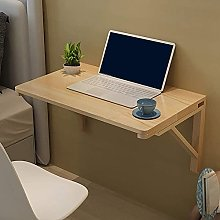 Wall-mounted folding work desk, folding drop-down