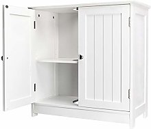 Wall Mounted Sink Cabinet with 2 Doors Pedestal -