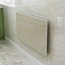 Wall-mounted table, folding deciduous dining
