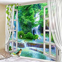 Wall-mounted Wall tapestries Plant flower cheap
