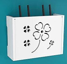 Wall-Mounted WiFi Storage Box, Router Shelf,