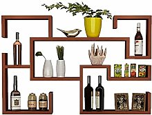 Wall-Mounted Wine Rack Hanging Wine Cabinet