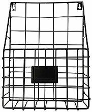 Wall Mounted Wire Basket, File Holder Desktop