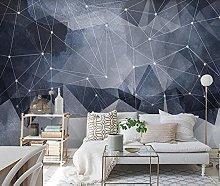 Wall Mural 3D Wallpaper Abstract Dark Blue