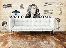 Wall Mural Hair Beauty Salon Beauty Shop 3D