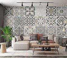 Wall Mural Wallpaper Tile Style Wallpaper Mural