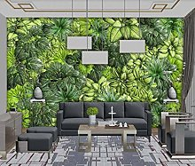 Wall Murals Hd 3D Wallpapers for Walls Leaf Green