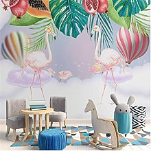 Wall Murals Wallpaper Carton Hot Air Balloon Kids