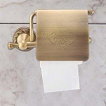 Black Oil Brass Wall Mount Bathroom Toilet Tissue Paper Roll Holder Cover qba476