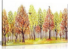 Wall Pictures for Living Room Trees Painting