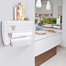 Wall roll holder, kitchen roll dispenser for 3