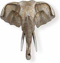 Wall Sculptures Elephant Head Wall Hanging Lucky