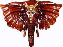 Wall Sculptures Elephant Pendant Animal Head Wall