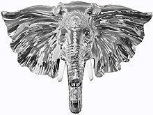 Wall Sculptures Large Lucky Elephant Head Wall