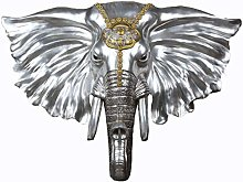 Wall Sculptures Lucky Elephant Head Wall Hanging